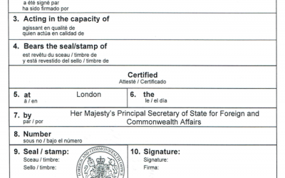 Everything you need to know about UK Document Legalisation